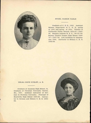 Page 14, 1909 Edition, Chillicothe High School - Cresset Yearbook (Chillicothe, MO) online yearbook collection