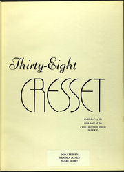 Page 7, 1938 Edition, Chillicothe High School - Cresset Yearbook (Chillicothe, MO) online yearbook collection