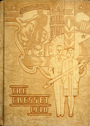 1940 Edition, Chillicothe High School - Cresset Yearbook (Chillicothe, MO)