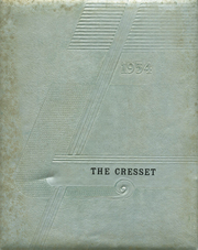 1954 Edition, Chillicothe High School - Cresset Yearbook (Chillicothe, MO)