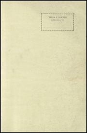 Page 3, 1923 Edition, Clayton High School - Clamo Yearbook (Clayton, MO) online yearbook collection