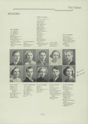 Page 15, 1937 Edition, Clayton High School - Clamo Yearbook (Clayton, MO) online yearbook collection