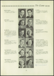 Page 15, 1938 Edition, Clayton High School - Clamo Yearbook (Clayton, MO) online yearbook collection