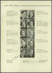 Page 16, 1938 Edition, Clayton High School - Clamo Yearbook (Clayton, MO) online yearbook collection