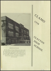 Page 3, 1938 Edition, Clayton High School - Clamo Yearbook (Clayton, MO) online yearbook collection