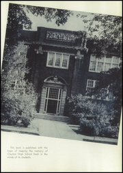 Page 7, 1940 Edition, Clayton High School - Clamo Yearbook (Clayton, MO) online yearbook collection
