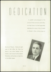 Page 9, 1940 Edition, Clayton High School - Clamo Yearbook (Clayton, MO) online yearbook collection