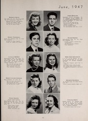 Page 55, 1947 Edition, Central High School - Red and Black Yearbook (St Louis, MO) online yearbook collection