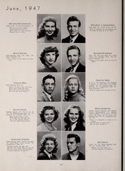 Page 56, 1947 Edition, Central High School - Red and Black Yearbook (St Louis, MO) online yearbook collection