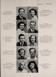 Page 57, 1947 Edition, Central High School - Red and Black Yearbook (St Louis, MO) online yearbook collection