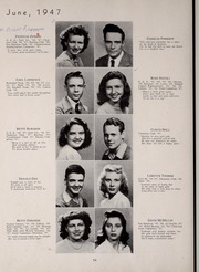 Page 58, 1947 Edition, Central High School - Red and Black Yearbook (St Louis, MO) online yearbook collection