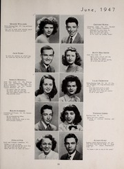 Page 59, 1947 Edition, Central High School - Red and Black Yearbook (St Louis, MO) online yearbook collection