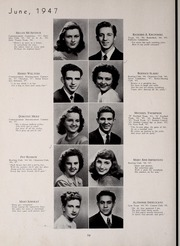 Page 60, 1947 Edition, Central High School - Red and Black Yearbook (St Louis, MO) online yearbook collection