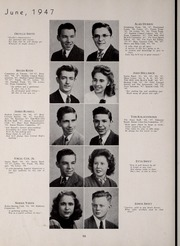 Page 62, 1947 Edition, Central High School - Red and Black Yearbook (St Louis, MO) online yearbook collection