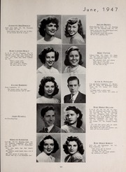 Page 63, 1947 Edition, Central High School - Red and Black Yearbook (St Louis, MO) online yearbook collection