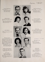 Page 65, 1947 Edition, Central High School - Red and Black Yearbook (St Louis, MO) online yearbook collection