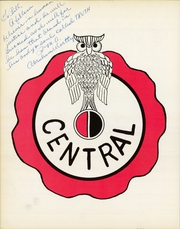 Page 8, 1965 Edition, Central High School - Red and Black Yearbook (St Louis, MO) online yearbook collection