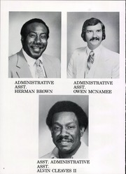 Page 8, 1982 Edition, Central High School - Red and Black Yearbook (St Louis, MO) online yearbook collection