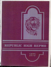1973 Edition, Republic High School - Repmo Yearbook (Republic, MO)