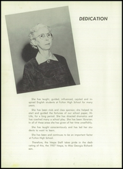 Page 8, 1957 Edition, Fulton High School - Vespa Yearbook (Fulton, MO) online yearbook collection