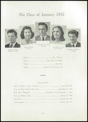 Page 15, 1945 Edition, McKinley High School - Nugget Yearbook (St Louis, MO) online yearbook collection