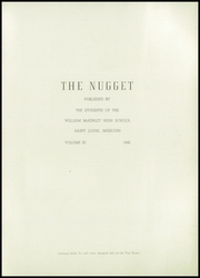 Page 5, 1945 Edition, McKinley High School - Nugget Yearbook (St Louis, MO) online yearbook collection