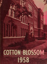1958 Edition, Caruthersville High School - Cotton Blossom Yearbook (Caruthersville, MO)