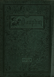 1934 Edition, St Louis University High School - Dauphin Yearbook (St Louis, MO)