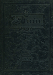 1935 Edition, St Louis University High School - Dauphin Yearbook (St Louis, MO)