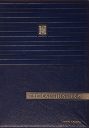 1939 Edition, St Louis University High School - Dauphin Yearbook (St Louis, MO)
