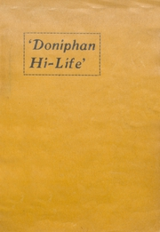 Page 1, 1928 Edition, Doniphan High School - Don Yearbook (Doniphan, MO) online yearbook collection