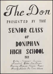Page 7, 1949 Edition, Doniphan High School - Don Yearbook (Doniphan, MO) online yearbook collection