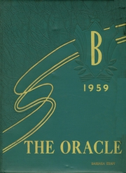 1959 Edition, Bayless High School - Oracle Yearbook (St Louis, MO)