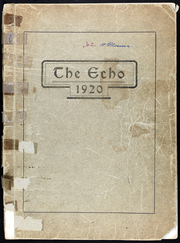 1920 Edition, Richmond High School - Echo Yearbook (Richmond, MO)