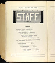 Page 10, 1921 Edition, Richmond High School - Echo Yearbook (Richmond, MO) online yearbook collection