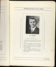 Page 13, 1921 Edition, Richmond High School - Echo Yearbook (Richmond, MO) online yearbook collection
