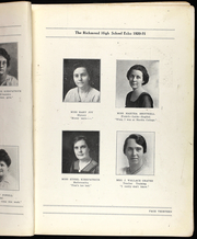 Page 15, 1921 Edition, Richmond High School - Echo Yearbook (Richmond, MO) online yearbook collection