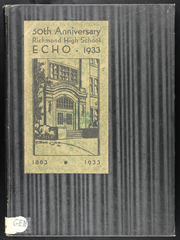 1933 Edition, Richmond High School - Echo Yearbook (Richmond, MO)