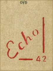 1942 Edition, Richmond High School - Echo Yearbook (Richmond, MO)