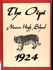 Page 1, 1924 Edition, Macon High School - Oipi Yearbook (Macon, MO) online yearbook collection