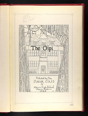 Page 7, 1925 Edition, Macon High School - Oipi Yearbook (Macon, MO) online yearbook collection