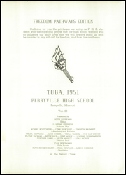 Page 5, 1951 Edition, Perryville Senior High School - Tuba Yearbook (Perryville, MO) online yearbook collection