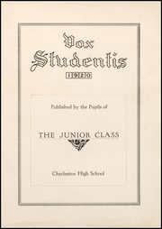 Page 5, 1920 Edition, Charleston High School - Blue Jay Yearbook (Charleston, MO) online yearbook collection