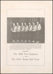 Page 7, 1920 Edition, Charleston High School - Blue Jay Yearbook (Charleston, MO) online yearbook collection
