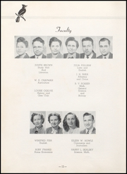 Page 16, 1948 Edition, Charleston High School - Blue Jay Yearbook (Charleston, MO) online yearbook collection
