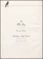 Page 6, 1948 Edition, Charleston High School - Blue Jay Yearbook (Charleston, MO) online yearbook collection