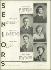Page 12, 1952 Edition, Nixa High School - Eagle Yearbook (Nixa, MO) online yearbook collection