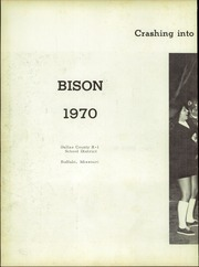 Page 6, 1970 Edition, Buffalo High School - Bison Yearbook (Buffalo, MO) online yearbook collection