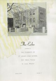 Page 5, 1949 Edition, St John High School - Echo Yearbook (St Louis, MO) online yearbook collection