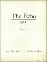 Page 7, 1953 Edition, St John High School - Echo Yearbook (St Louis, MO) online yearbook collection